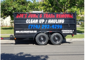 Santa Ana junk removal Joe's Junk & Trash Removal