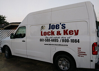 Bakersfield locksmith Joe's Lock and Key