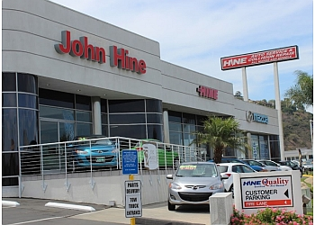 San Diego car dealership John Hine Mazda