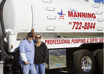 Palmdale septic tank service John Manning Plumbing