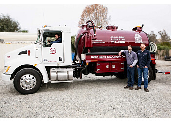 Santa Clarita septic tank service John Murray Plumbing