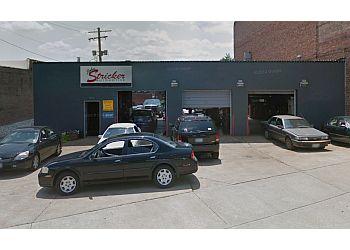 St Louis car repair shop John Stricker