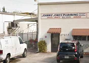 St Petersburg plumber Johnnie Jones Plumbing Co Inc.