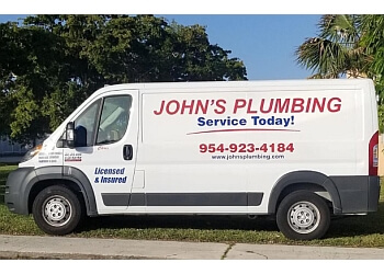 Hollywood plumber Johns Plumbing