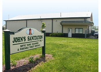 Detroit septic tank service John's Sanitation Inc.