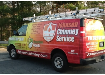 Washington chimney sweep Johnson Chimney Service