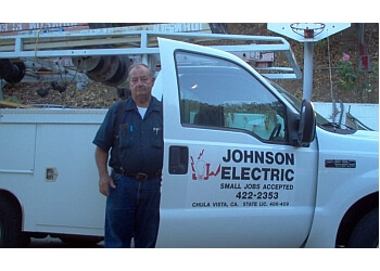Chula Vista electrician JOHNSON ELECTRIC CO, INC.