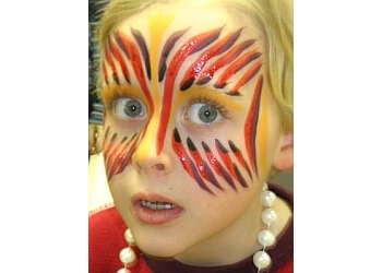 Madison face painting Jolly Giants Entertainment