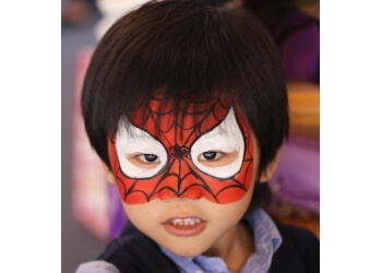 Torrance face painting Jollyfish Face Painting and Art Classes