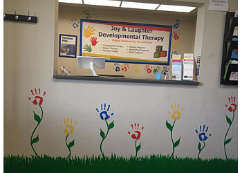 San Jose occupational therapist Joy & Laughter Developmental Therapy