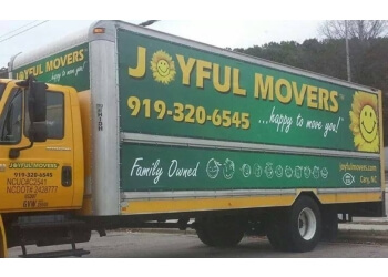 Cary moving company Joyful Movers