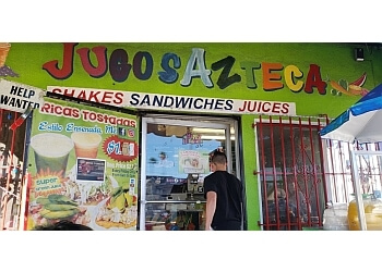Los Angeles juice bar Jugos Azteca