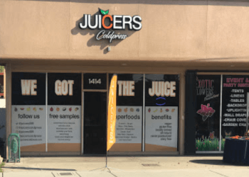 Visalia juice bar Juicers Coldpress