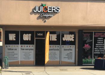 Visalia juice bar Juicers Coldpress