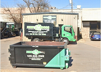 Oklahoma City junk removal Junk Boss