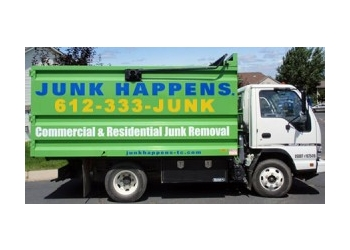 Minneapolis junk removal Junk Happens