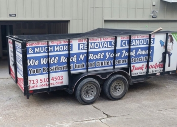 Houston junk removal Junk Rockers