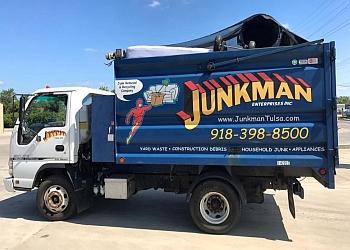 Tulsa junk removal Junkman Tulsa, LLC.