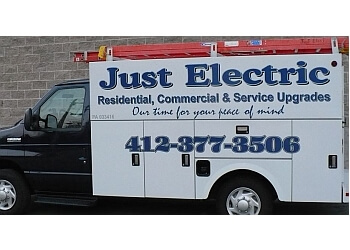 Pittsburgh electrician Just Electric LLC