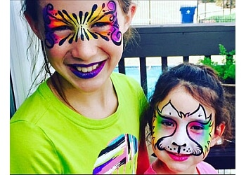 Wichita face painting Just Face It face painting