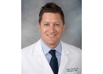 St Louis neurosurgeon Justin Michael Sweeney, MD