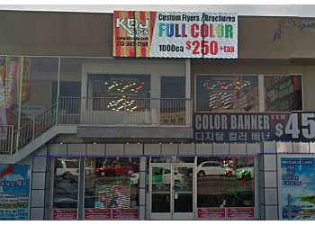 Los Angeles sign company KBJ Sign