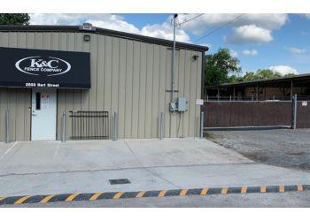 Nashville fencing contractor K & C Fence Company