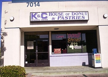 Fresno donut shop K & C House of Donuts & Pastries
