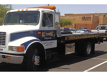 Peoria towing company KC TOWING