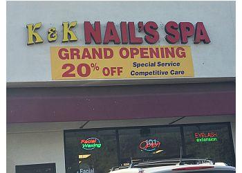 Moreno Valley nail salon K & K Nail's spa