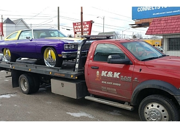 Columbus towing company K & K Towing & Recovery LLC