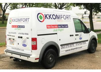 Milwaukee hvac service K KOMFORT INC.