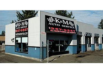 Portland car repair shop K & M Auto Service