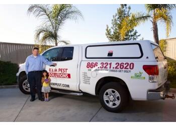 Oceanside pest control company K & M Pest Solutions Inc.