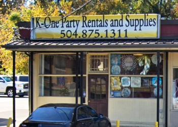 New Orleans event rental company K-One Party Rentals and Supplies