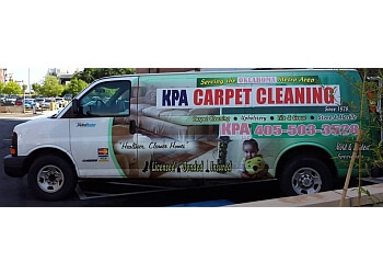 Oklahoma City carpet cleaner KPA Carpet Cleaning Services