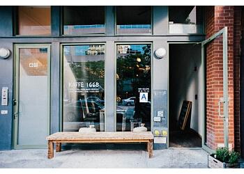 New York cafe Kaffe 1668