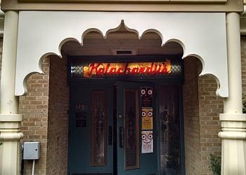 Dallas vegetarian restaurant Kalachandji's Restaurant and Palace