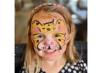 Oklahoma City face painting Kaleidoscope Arts