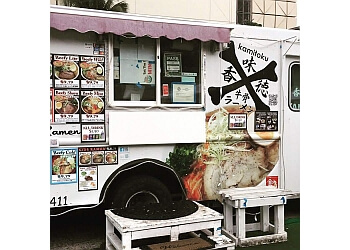 Honolulu food truck Kamitoku Ramen