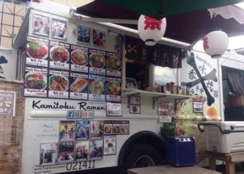 Honolulu food truck Kamitoku Ramen Waikiki