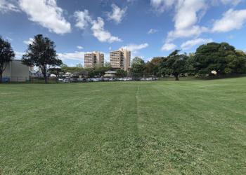 Honolulu public park Kanewai Community Park