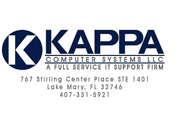 Orlando it service Kappa Computer Systems