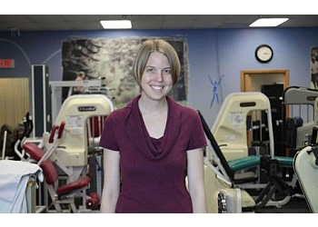 St Paul physical therapist Kari Van Schyndel, PT, MPT