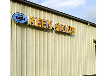 Augusta sign company Keen Signs & Graphics