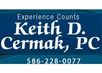 Sterling Heights estate planning lawyer Keith D. Cermak