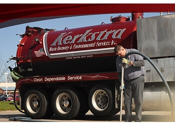 Grand Rapids septic tank service Kerkstra Services Inc.