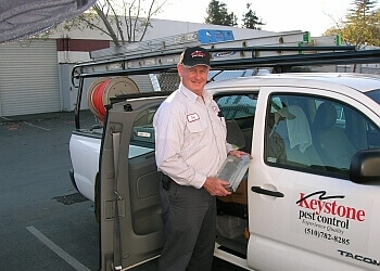 Hayward pest control company Keystone Pest Control, Inc.