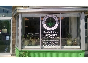 Washington juice bar Khepra's Raw Food Juice Bar