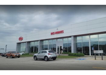 Des Moines car dealership KIA OF DES MOINES